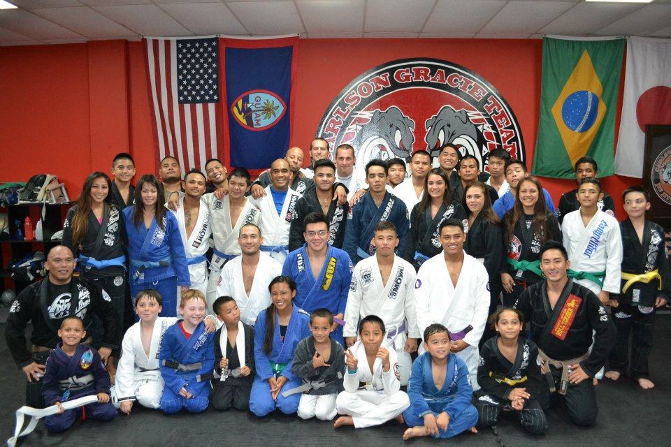 Jiu Jitsu on Guam